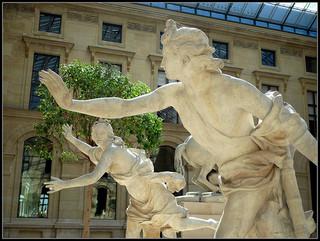 """""""Daphne Pursued by Apollo"""" - Guillaume I Coustou / hetteix"""