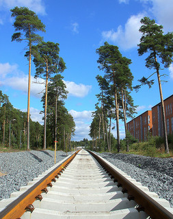 Helsinki Metro service rail / villes