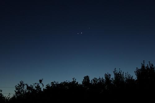 Mercury, Venus, Jupiter & Mars / astro_mike